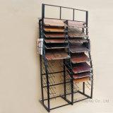La especialidad salva el estante de visualización doble de la baldosa cerámica de la fila de la altura
