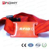 2017 Wristband del tessuto tessuto festival RFID per gli eventi