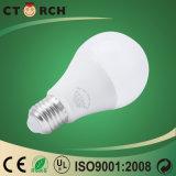 2years保証が付いているセリウムが付いているCtorch LEDの球根ライトA60 LED E27球根9W