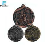 Персонализированные античные медали пожалования спортов металла 3D