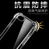 Самые новые падение iPhone 7 аргументы за конструкции TPU прозрачные добавочное анти-