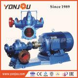 Electric Horizontal Vertical cas divisé en plusieurs stades de la pompe centrifuge double aspiration