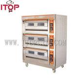 Handelsbäckerei-Gas-Ofen für Verkauf