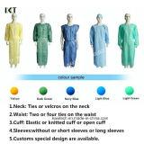 製造者Kxt-Sg24に服を着せる使い捨て可能な非編まれた外科医の隔離の医学のガウン