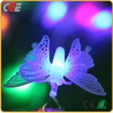 Бабочка СИД освещает рождество светов декора комнаты светов шнура проблесковых светов светов шнура звёздное