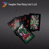 Tarjetas que juegan de tarjetas del juego de mesa de las tarjetas de papel