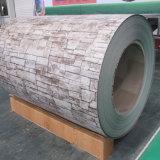 La brique finition antique du grain de la bobine de tôle en acier