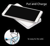 iPhoneのための力バンクの無線充電器
