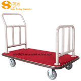 304# chariot à bagages en acier inoxydable/chariot pour SITTY 92.2008Hall (A)