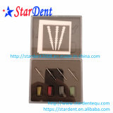 Colore dentale diritto/alberino a spirale della fibra di vetro