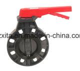 Válvula de bola PVC con tipo de socket para el suministro de agua