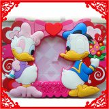 PVC blando de promoción de los marcos de fotos hermosas de Navidad