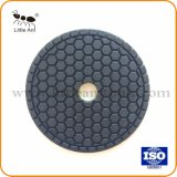 De forme hexagonale Wet Polishing Pads de diamant pour marbre et granit