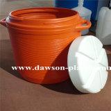 a isolação 50L Barrels a máquina de molde do sopro da extrusão dos recipientes