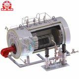 Caldera de vapor dual natural del combustible del gas de petróleo del tubo de fuego de la circulación