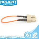 Loopback óptico de fibra del Sc milímetro