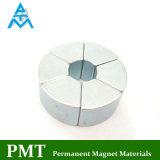 N40uh om de Permanente Magneet van het Segment met het Magnetische Materiaal van het Neodymium