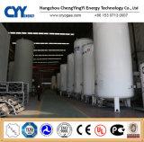 De cryogene Vloeibare Tank van de Opslag voor Lar van Lox Lin Lco2 LNG met het Materiaal van het Roestvrij staal