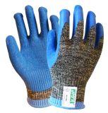 С покрытием из латекса архив трикотажные Cut-Resistant Anti-Abrasion рабочие перчатки