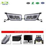 Lantsun ATV-Rzr1000 - 2014-2017 RGB Polaris RZR 1000 XP 900 ATV Chrome faróis LED RGB DRL Kit de Conversão