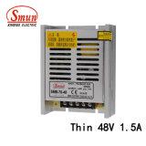 SMB-70-48 70W 48VCC 1.5A mince Alimentation en mode de commutation SMPS