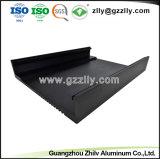 Custom 6.063 Dissipador de calor em alumínio anodizado para extrusão Amplificador Automático