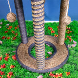 Katze Scratcher Baum mit dem Löschen des Pfosten-Aufsatzes für das Spielen
