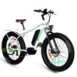 Fetter Aluminiumgummireifen-elektrisches Gebirgsstrand-Fahrrad mit Fahrrad des Cer-En15194
