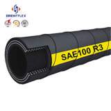 Boyau hydraulique en caoutchouc à haute pression de SAE 100 R3 R6