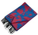 Cashmere reversível de acrílico de mulheres como o inverno quente Tecidos de malha grossa lenço Xale (SP261)