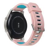 SamsungギヤS3フロンティアおよびクラシックのためのシリコーンゴムの時計バンドストラップ