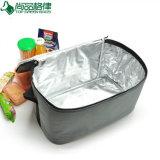 Eco Polyester-Schulter Isolierpicknick-Mittagessen-Kühlvorrichtung-Beutel für im Freien