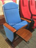 2018 precio de fábrica de nuevo diseño de la Conferencia plegable silla tapizada Silla de la Iglesia de conexión para la Iglesia (YA-01F)