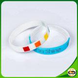 Unterschiedlich Firmenzeichen-Silikon-GummiWristband kundenspezifisch anfertigen