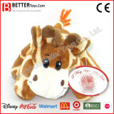 Soft caresser animal en peluche girafe en peluche jouet pour enfants/enfants