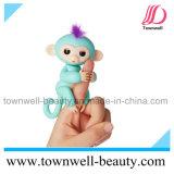 Обезьяны младенца Fingerlings игрушки маленькой взаимодействующей электронные для зеленого цвета детей