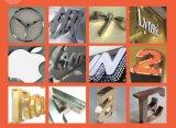 La soldadora del molde del laser/las muestras/del acero inoxidable el anuncio de la publicidad redacta el soldador del laser