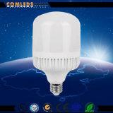 Bulbo claro do diodo emissor de luz do poder superior de Aluminum+Plastic E27/B22 T