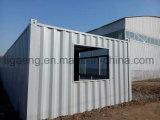 Niedrige Kosten-bequemes Installation Prebuilt Haus mit heller Stahlkonstruktion