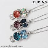 Xuping-00464 collar antiguo estilo real de los cristales de Swarovski colgante, collar de animales
