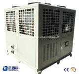 Refrigerador refrescado aire semihermético del tornillo del compresor del tornillo