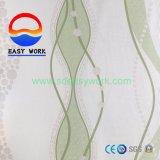Papel pintado moderno de la decoración 2017 de Fiowers del PVC de la etiqueta engomada casera hermosa del papel de empapelar
