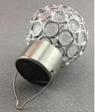 Bola de Energía Solar lámpara con diseño recubierto de cristal