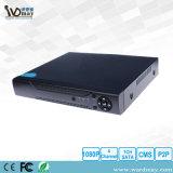 통신망 기록병 4 채널 CCTV NVR