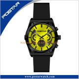 特別な斜面デザイン明るいSubdial日本の水晶腕時計