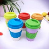 Wholesable biodegradierbare Bambusfaser-Kaffeetasse (YK-BC4155)
