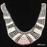32*38cm royale française collier de couleur dentelle de coton avec bande de la géométrie des accessoires du vêtement féminin de broderie HM202 Élément textile en dentelle de fraisage
