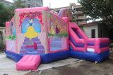Märchen-Thema-aufblasbarer Prahler-Schloss-Großverkauf der 6*5*3m Prinzessin-Giant Inflatable Bouncer