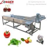 세탁기 식물성 세척 선이 최고 판매 과일 청소 장비에 의하여 녹색이 된다