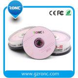 Ecrã Disco imprimível CD-R 700MB 52X 50PCS Wraped seda